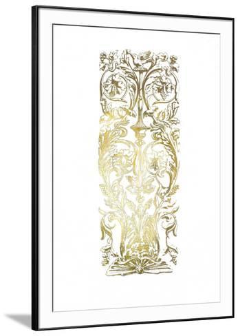Gold Foil Renaissance Panel I-Owen Jones-Framed Art Print