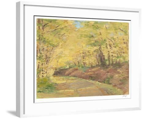 Fall Path II-Ethan Harper-Framed Art Print