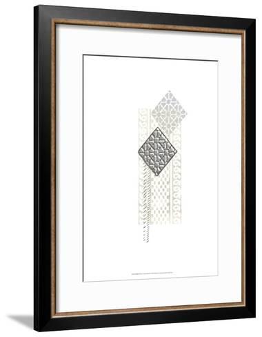 Block Print Composition I-June Erica Vess-Framed Art Print