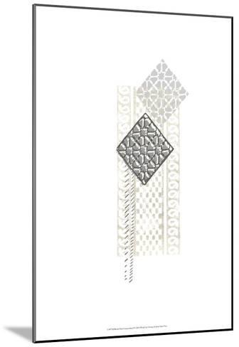 Block Print Composition I-June Erica Vess-Mounted Art Print