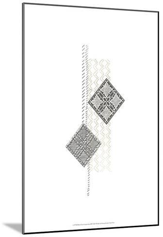 Block Print Composition III-June Erica Vess-Mounted Art Print