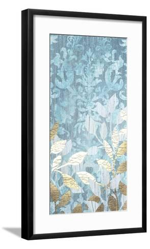 Garden Damask I-June Erica Vess-Framed Art Print