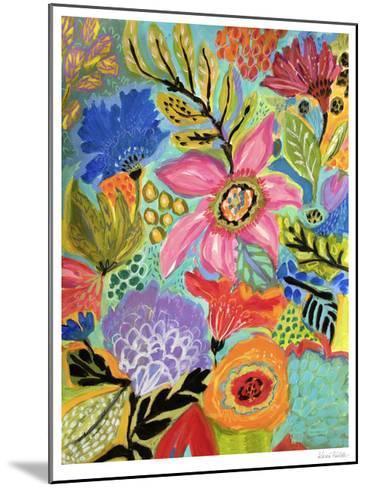 Secret Garden Floral II-Karen  Fields-Mounted Limited Edition