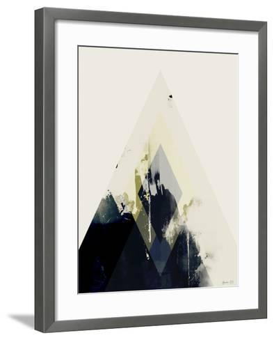 Beneath the Surface II-Green Lili-Framed Art Print