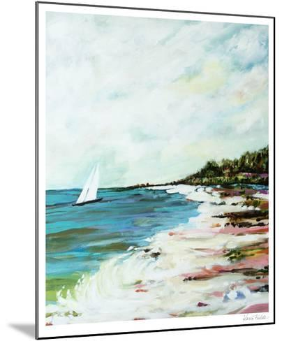 Beach Surf I-Karen  Fields-Mounted Limited Edition