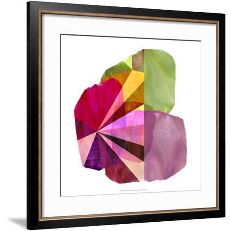 Geo Mono Block I-Sisa Jasper-Framed Art Print