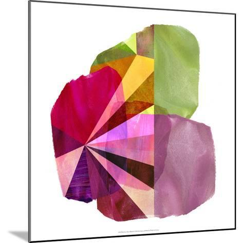 Geo Mono Block I-Sisa Jasper-Mounted Art Print