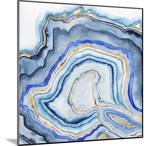 Cobalt Agate I-Grace Popp-Mounted Art Print