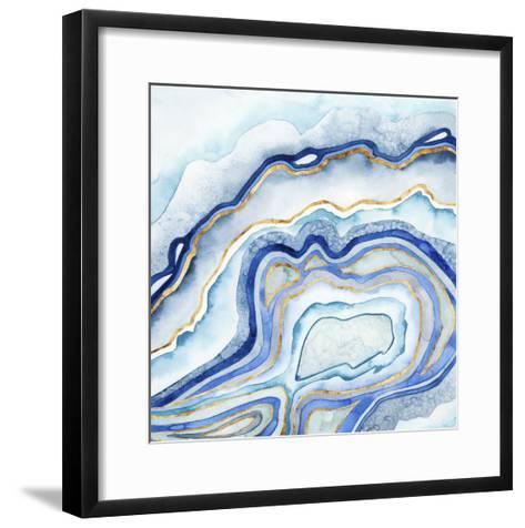 Cobalt Agate II-Grace Popp-Framed Art Print