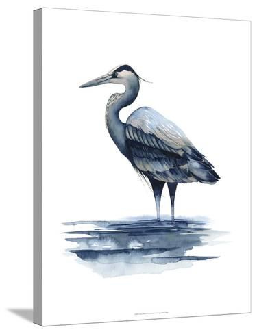 Azure Heron I-Grace Popp-Stretched Canvas Print