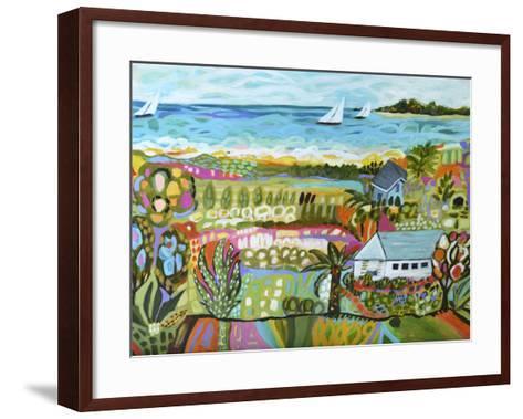 Nautical Whimsy III-Karen  Fields-Framed Art Print