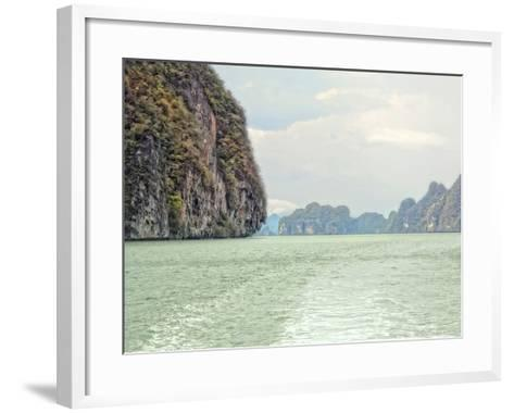 Exotic Waters V-Golie Miamee-Framed Art Print