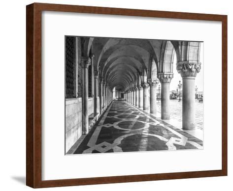 Venetian Path-Assaf Frank-Framed Art Print