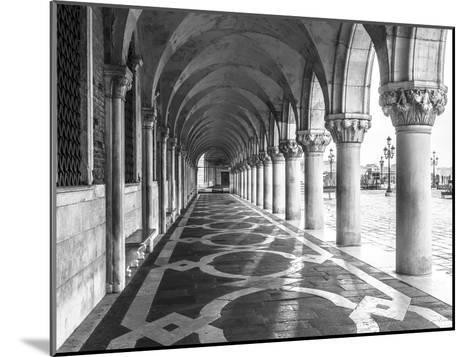 Venetian Path-Assaf Frank-Mounted Giclee Print