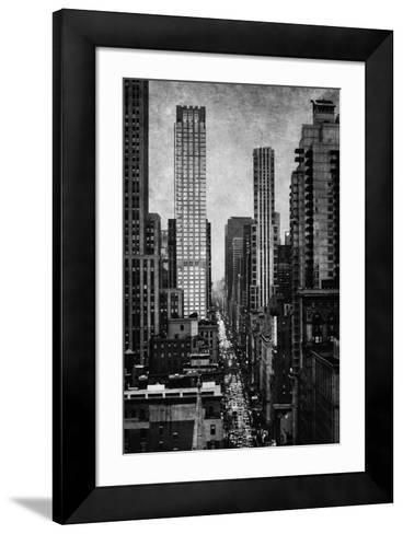 Towering New York-Pete Kelly-Framed Art Print