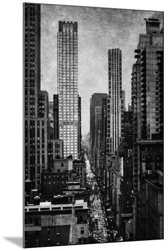 Towering New York-Pete Kelly-Mounted Giclee Print
