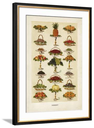 Vintage Dessert-The Vintage Collection-Framed Art Print