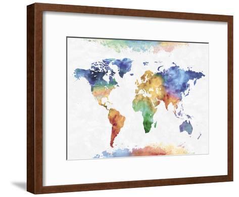 Colour Earth-Tania Bello-Framed Art Print