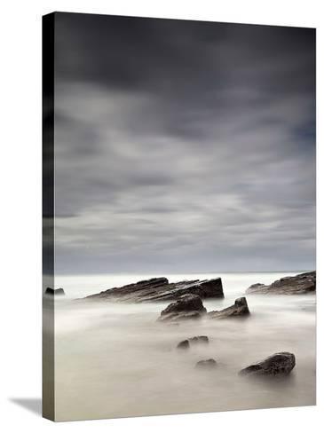 Rocks in Mist-PhotoINC Studio-Stretched Canvas Print
