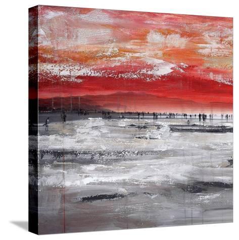 Beach IV-Clara Summer-Stretched Canvas Print