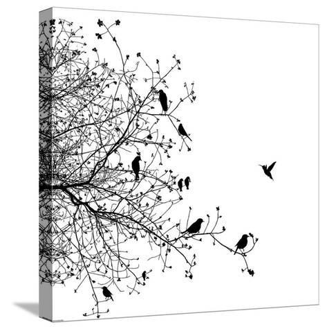 Bird I-GraphINC-Stretched Canvas Print