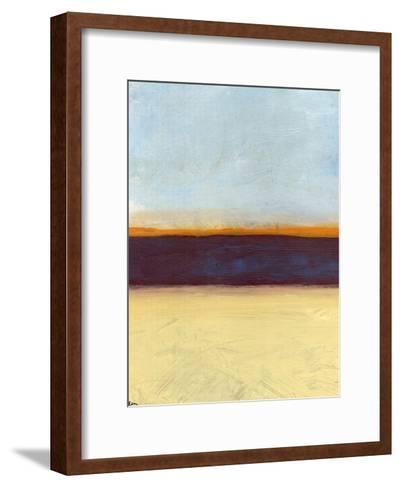 Big Sky Country 3-Jan Weiss-Framed Art Print
