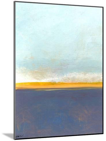 Big Sky Country 1-Jan Weiss-Mounted Art Print