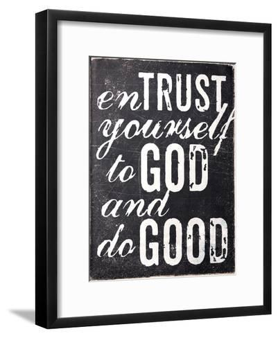 Entrust Yourself-Dallas Drotz-Framed Art Print