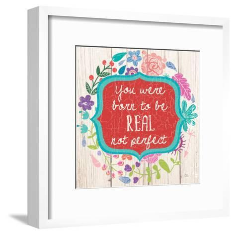 Be Real-Marilu Windvand-Framed Art Print
