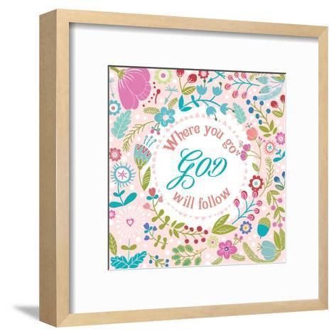 God 1-Marilu Windvand-Framed Art Print
