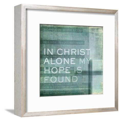 Alone My Hope-Dallas Drotz-Framed Art Print