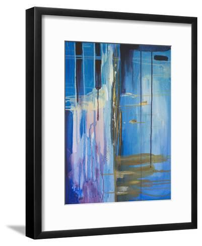 Desert Rain-Laura D Zajac-Framed Art Print