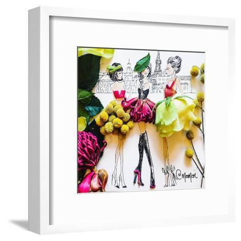 Parisians-Meredith Wing-Framed Art Print