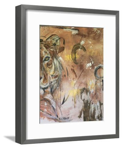 Raw Energy-Laura D Zajac-Framed Art Print