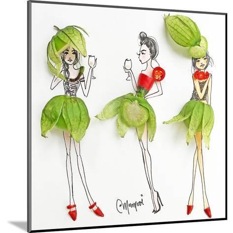 Tomatillo Ladies-Meredith Wing-Mounted Art Print
