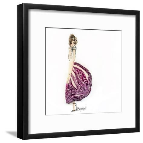 Cab Bage Chic-Meredith Wing-Framed Art Print