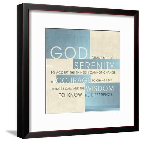 God Serenity-Dallas Drotz-Framed Art Print