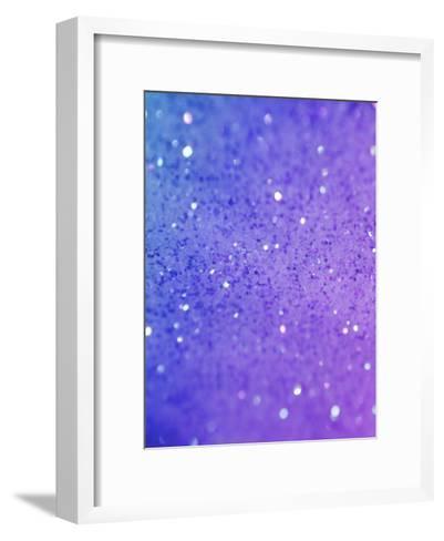 Colorful Sparkly Glitter Shiny-Wonderful Dream-Framed Art Print