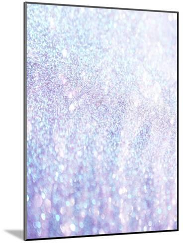 Silver Style Glitter-Wonderful Dream-Mounted Art Print