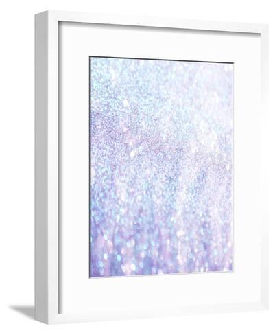 Silver Style Glitter-Wonderful Dream-Framed Art Print
