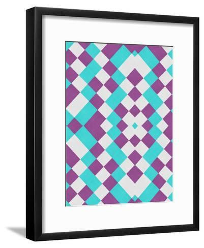 Colorful Texture Style-Wonderful Dream-Framed Art Print