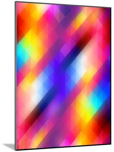 Spacy Colorful Design-Wonderful Dream-Mounted Art Print
