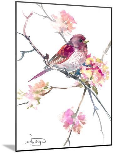 Rosefinch-Suren Nersisyan-Mounted Art Print