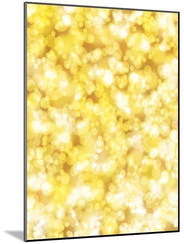 Golden Sparkly Shiny-Wonderful Dream-Mounted Art Print