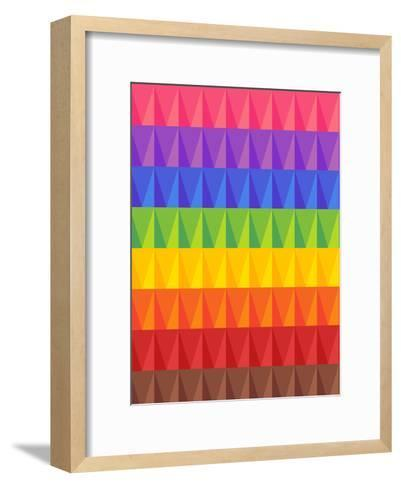 Modern And Trendy Pattern-Wonderful Dream-Framed Art Print