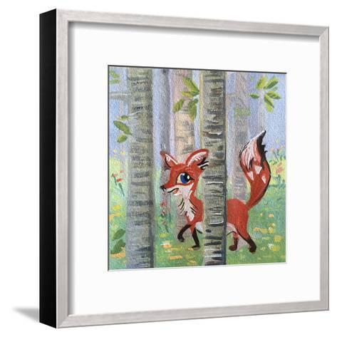 Devfox-Cara Kozik-Framed Art Print