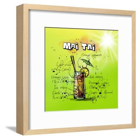 Mai Tai-Wonderful Dream-Framed Art Print