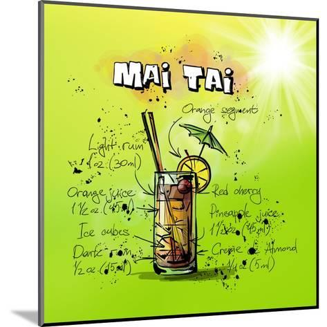 Mai Tai-Wonderful Dream-Mounted Art Print