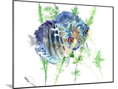 Aquarium Fish-Suren Nersisyan-Mounted Art Print