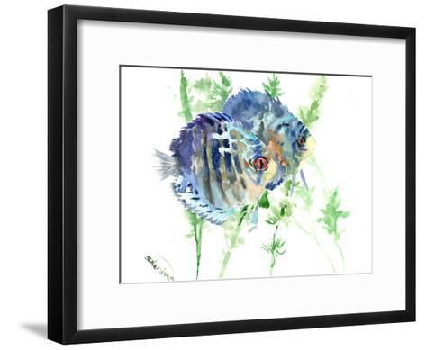 Aquarium Fish-Suren Nersisyan-Framed Art Print